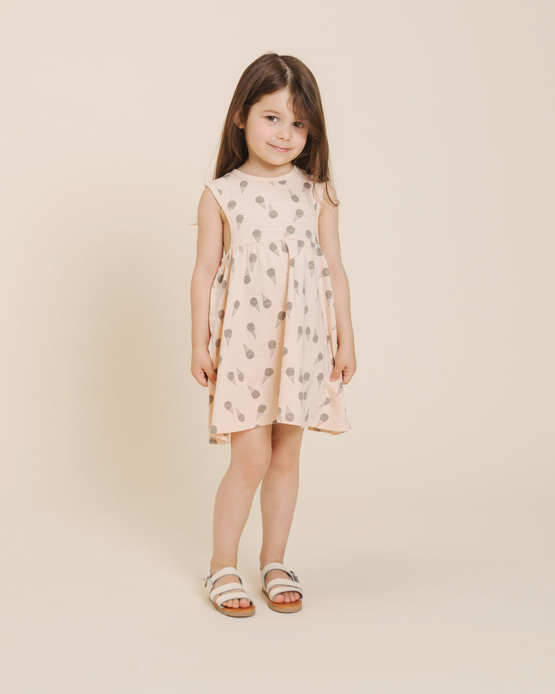 Layla Dress || Ice Cream - Rylee + Cru