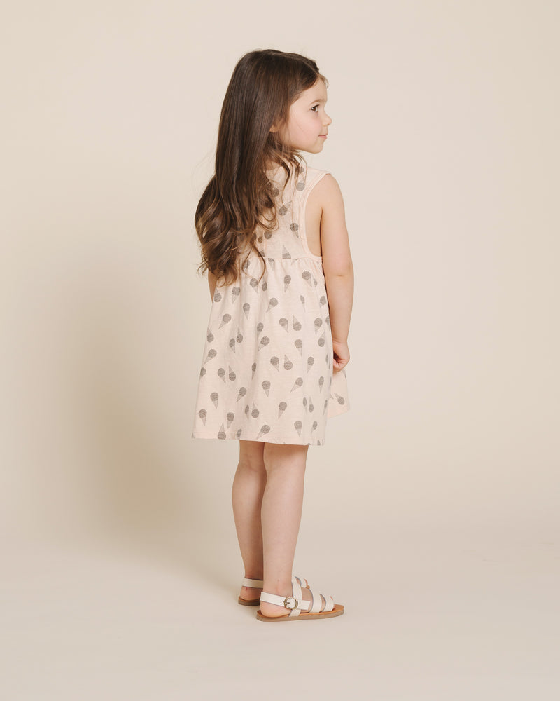 Layla Dress || Ice Cream - Rylee + Cru | Kids Clothes | Trendy Baby Clothes | Modern Infant Outfits |