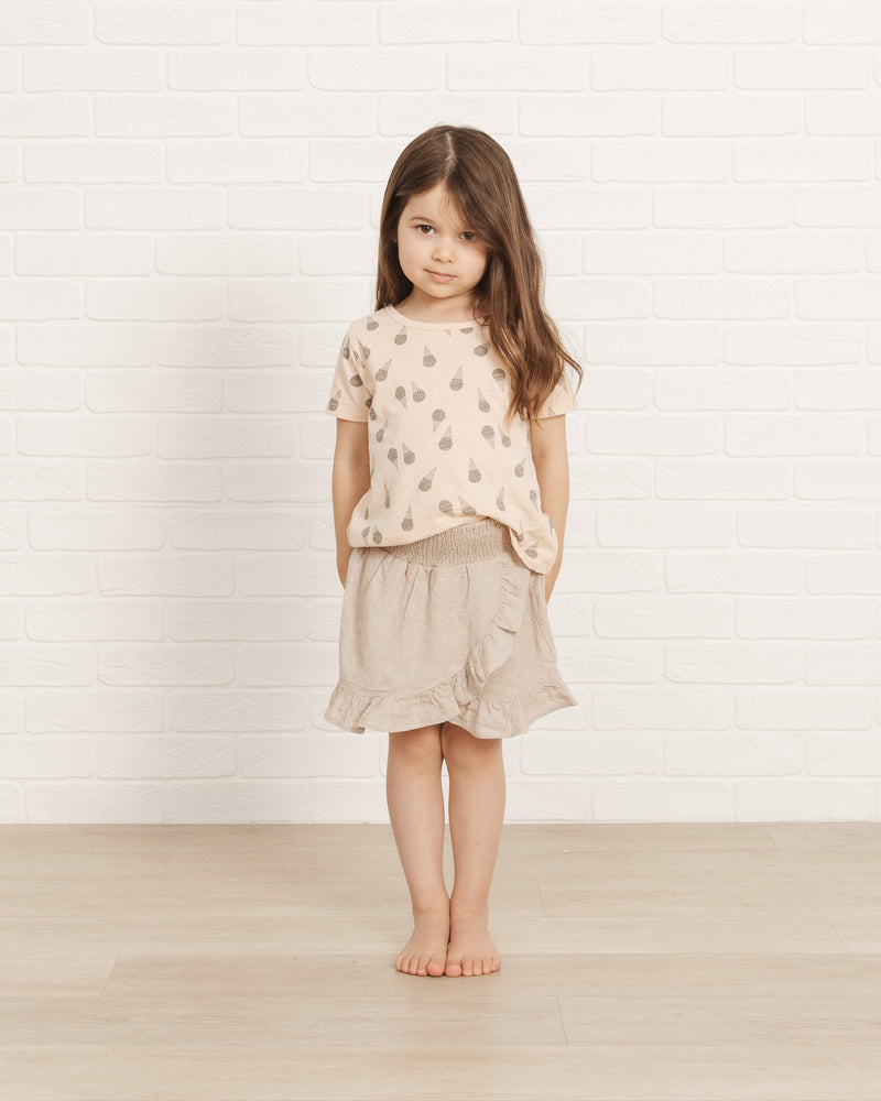 Basic Tee || Ice Cream - Rylee + Cru | Kids Clothes | Trendy Baby Clothes | Modern Infant Outfits |