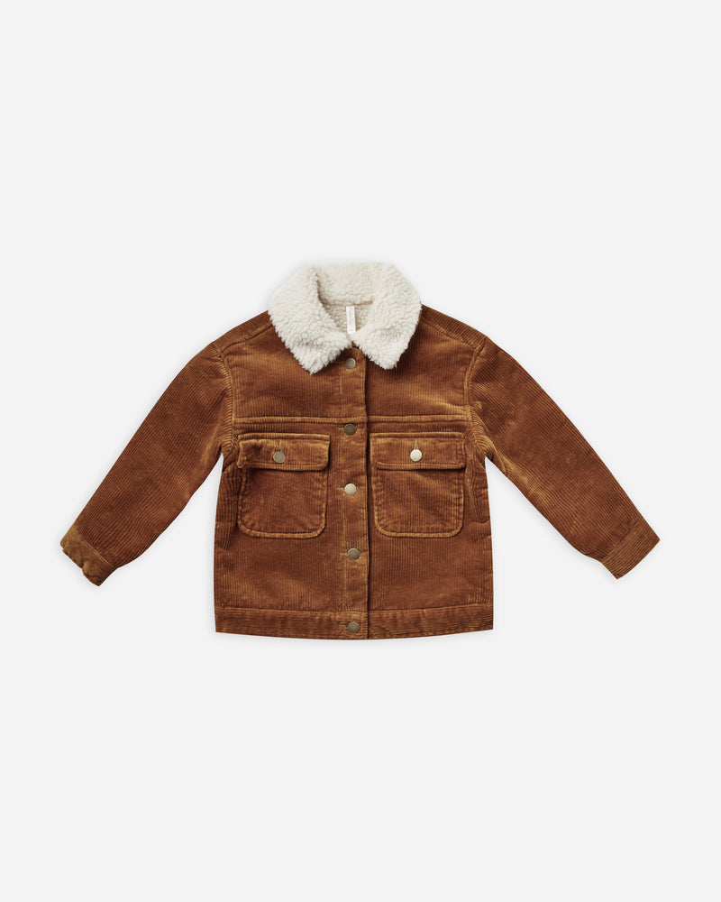 julian jacket || cinnamon - Rylee + Cru | Kids Clothes | Trendy Baby Clothes | Modern Infant Outfits |