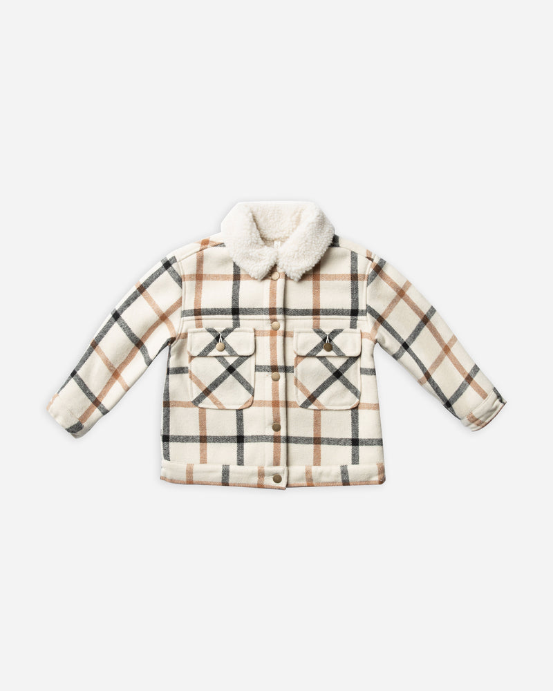 julian jacket || natural - Rylee + Cru