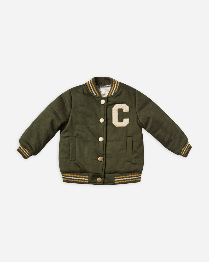layton jacket || forest - Rylee + Cru | Kids Clothes | Trendy Baby Clothes | Modern Infant Outfits |