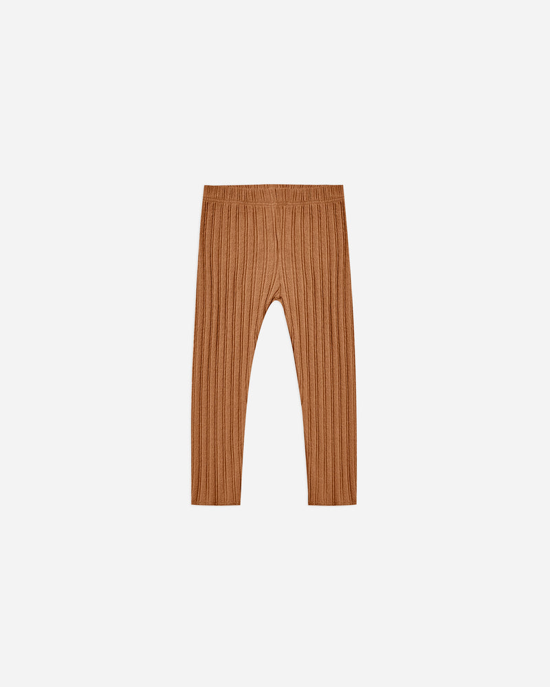 ribbed legging || cinnamon - Rylee + Cru