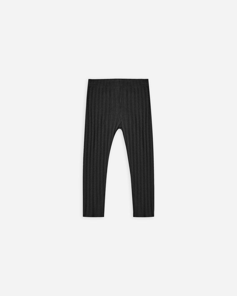 ribbed legging || vintage black - Rylee + Cru