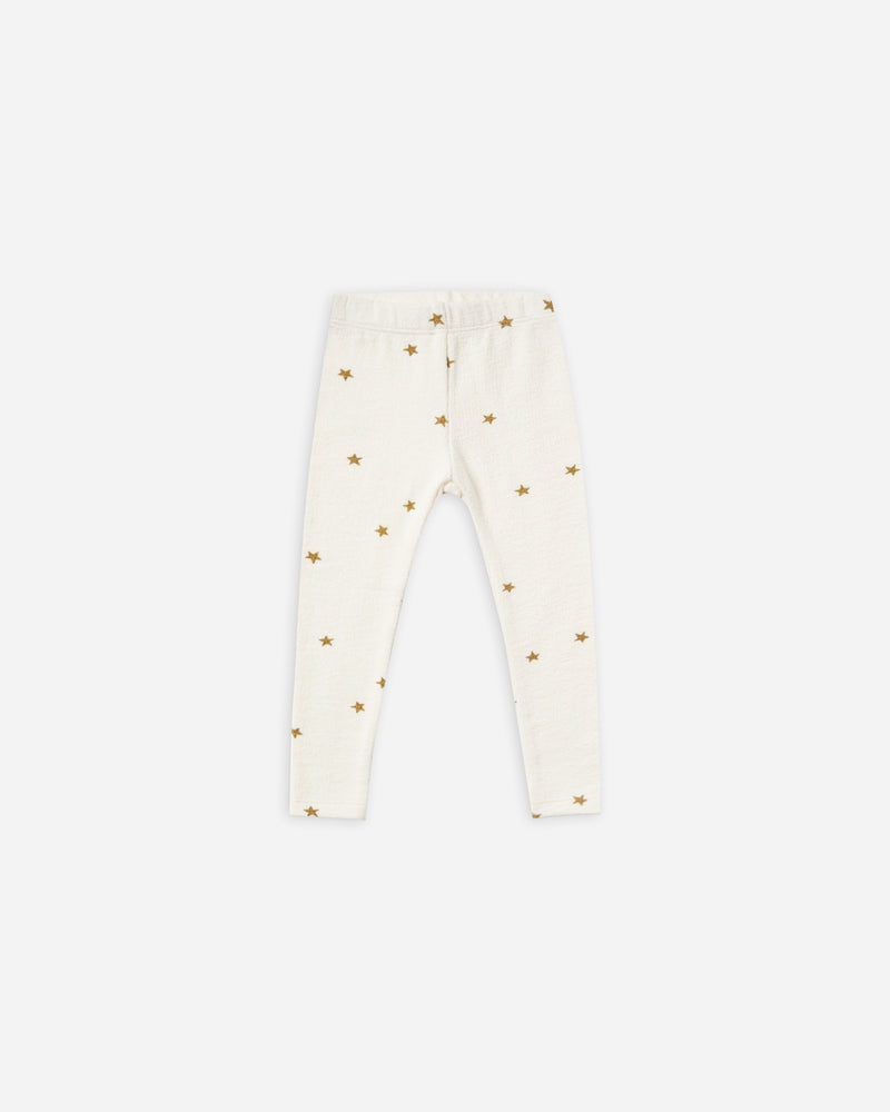 star knit legging || ivory - Rylee + Cru