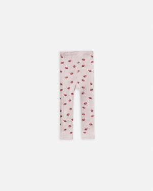 knit leggings || strawberry - Rylee + Cru