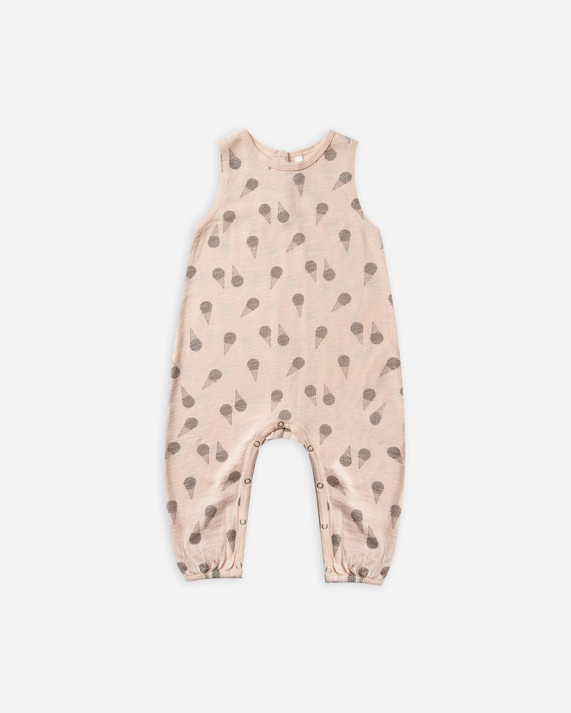 Mills Jumpsuit || Ice Cream - Rylee + Cru | Kids Clothes | Trendy Baby Clothes | Modern Infant Outfits |