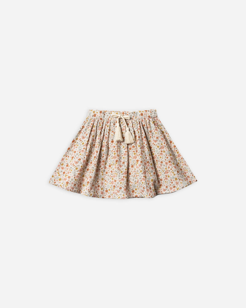 mini skirt || flower field - Rylee + Cru | Kids Clothes | Trendy Baby Clothes | Modern Infant Outfits |