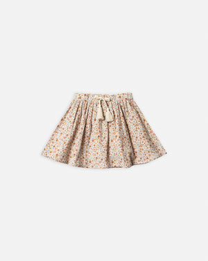 mini skirt || flower field