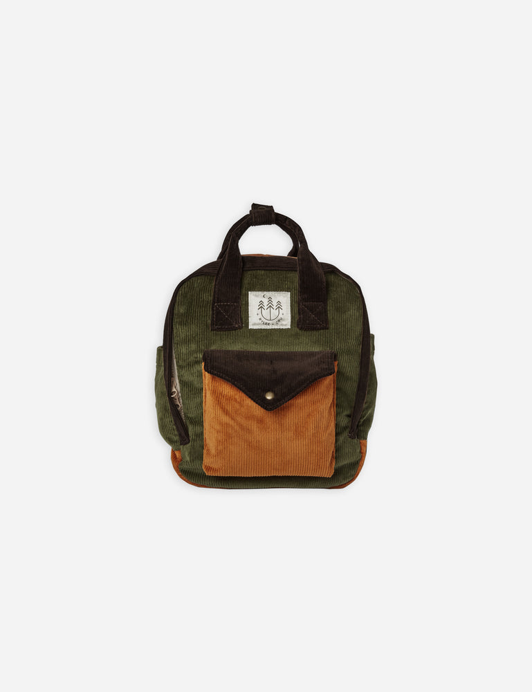 mini backpack || corduroy - Rylee + Cru