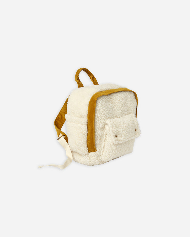 sherpa mini backpack || natural - Rylee + Cru