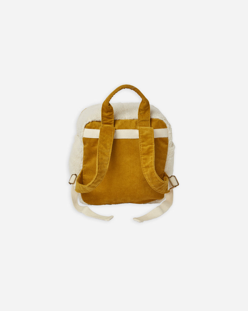 mini backpack || sherpa