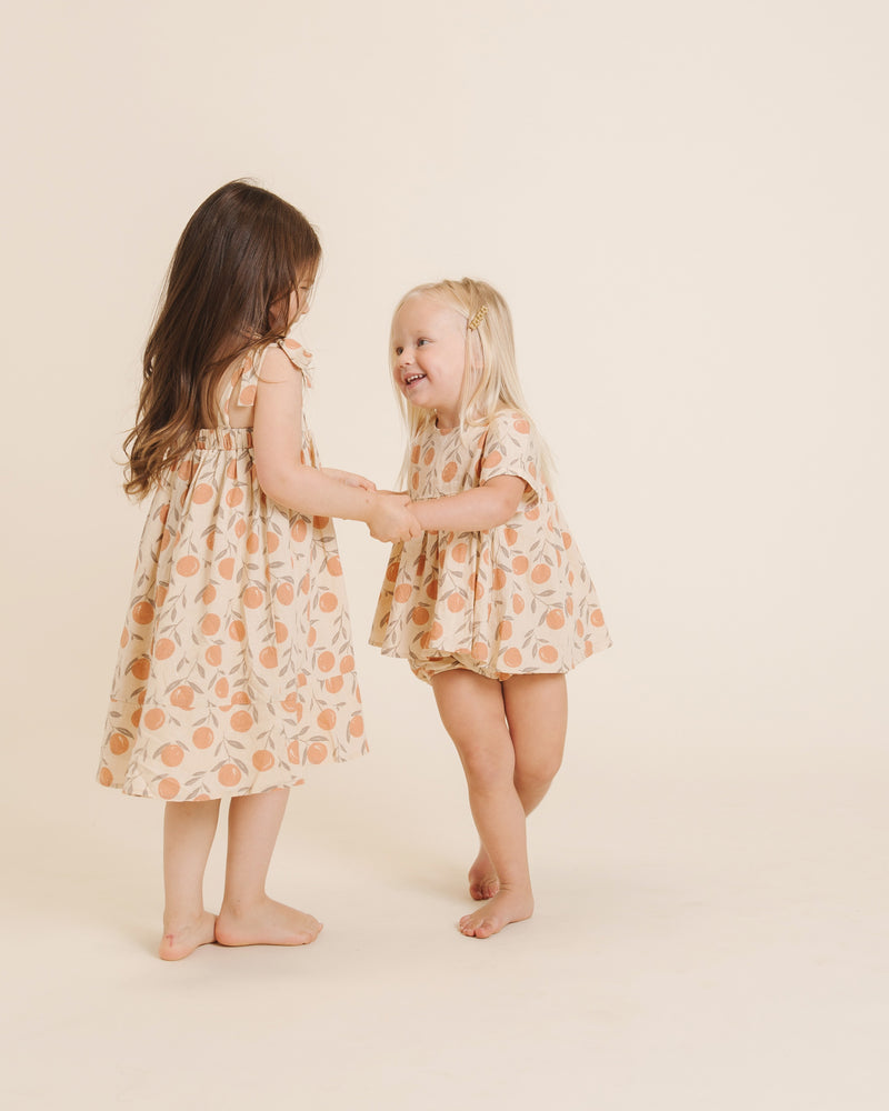 Button Short || Peaches - Rylee + Cru | Kids Clothes | Trendy Baby Clothes | Modern Infant Outfits |