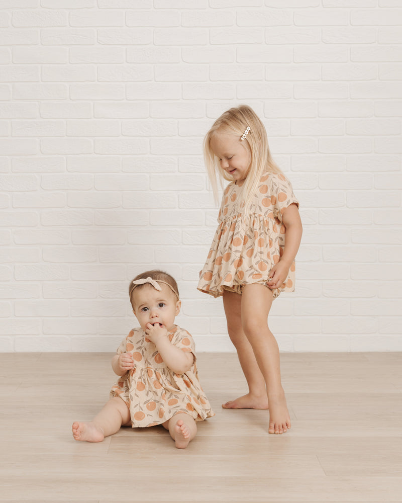 Button Short || Peaches - Rylee + Cru
