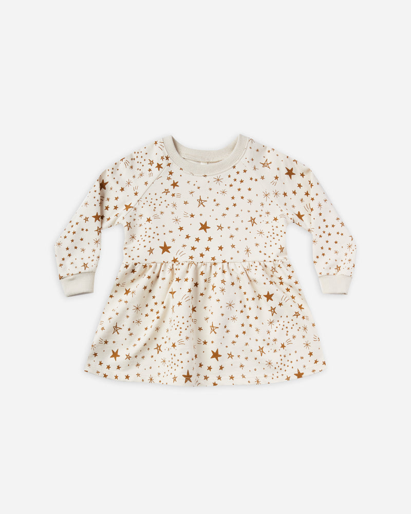 raglan dress || starburst - Rylee + Cru