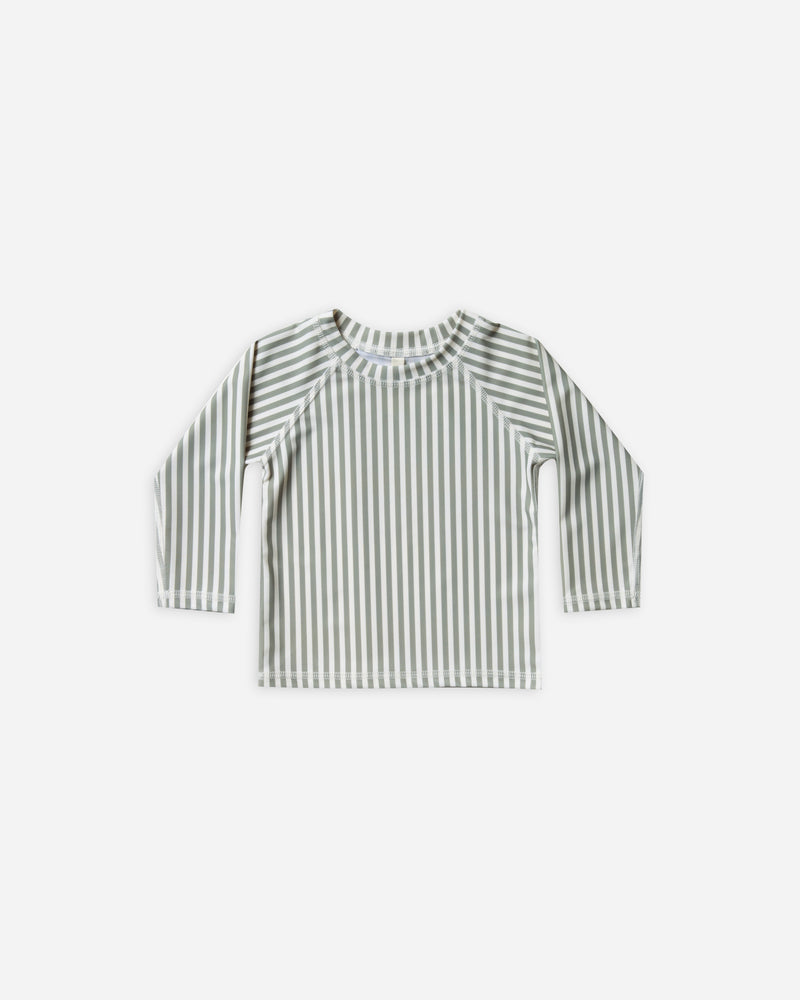 longsleeve rashguard || olive stripe - Rylee + Cru | Kids Clothes | Trendy Baby Clothes | Modern Infant Outfits |