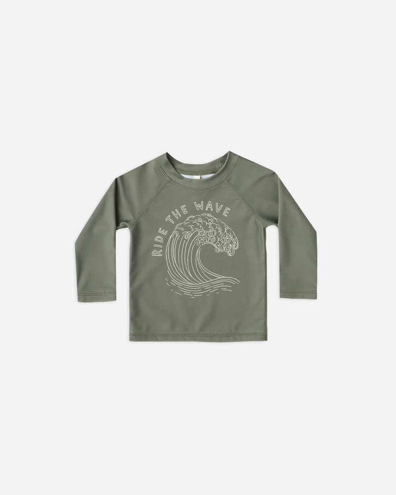 rashguard || ride the wave - Rylee + Cru | Kids Clothes | Trendy Baby Clothes | Modern Infant Outfits |