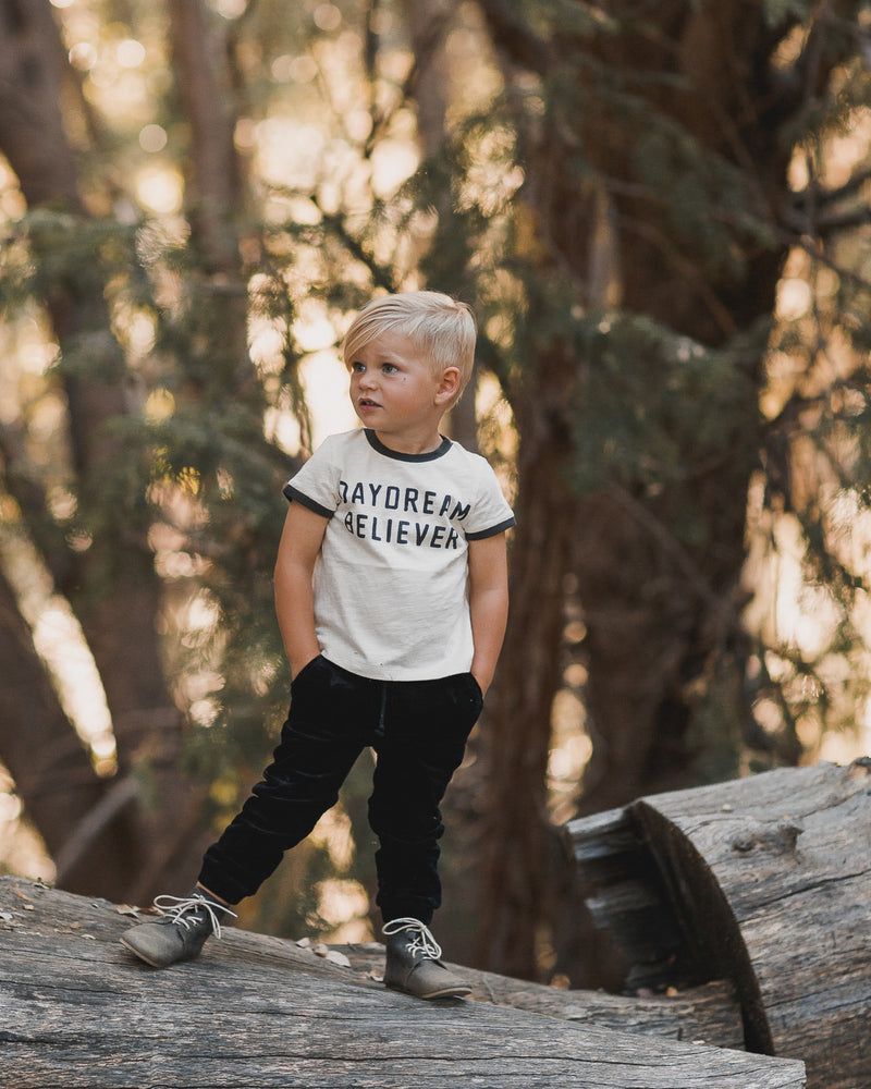 beau pant || vintage black - Rylee + Cru | Kids Clothes | Trendy Baby Clothes | Modern Infant Outfits |