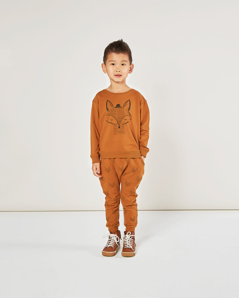 sweatpants || fox - Rylee + Cru | Kids Clothes | Trendy Baby Clothes | Modern Infant Outfits |