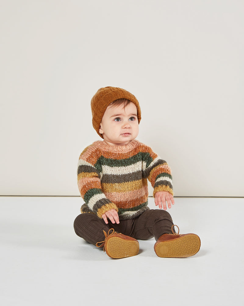 aspen sweater || multi-stripe - Rylee + Cru | Kids Clothes | Trendy Baby Clothes | Modern Infant Outfits |
