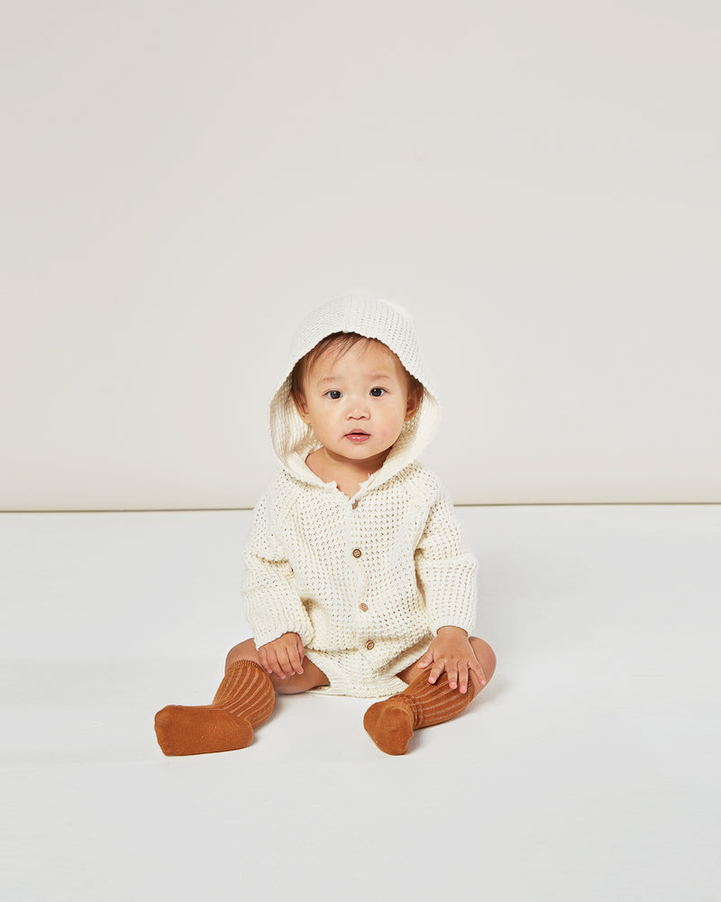 knit bloomer || ivory - Rylee + Cru | Kids Clothes | Trendy Baby Clothes | Modern Infant Outfits |