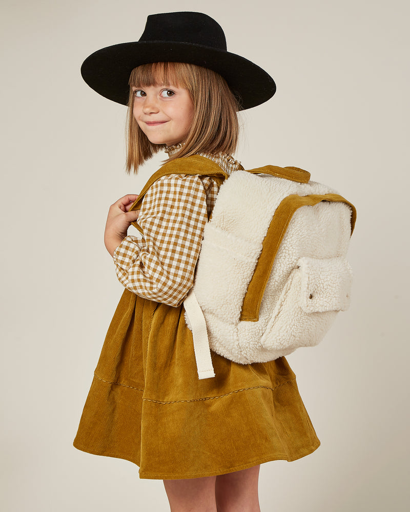 mini backpack || sherpa - Rylee + Cru | Kids Clothes | Trendy Baby Clothes | Modern Infant Outfits |