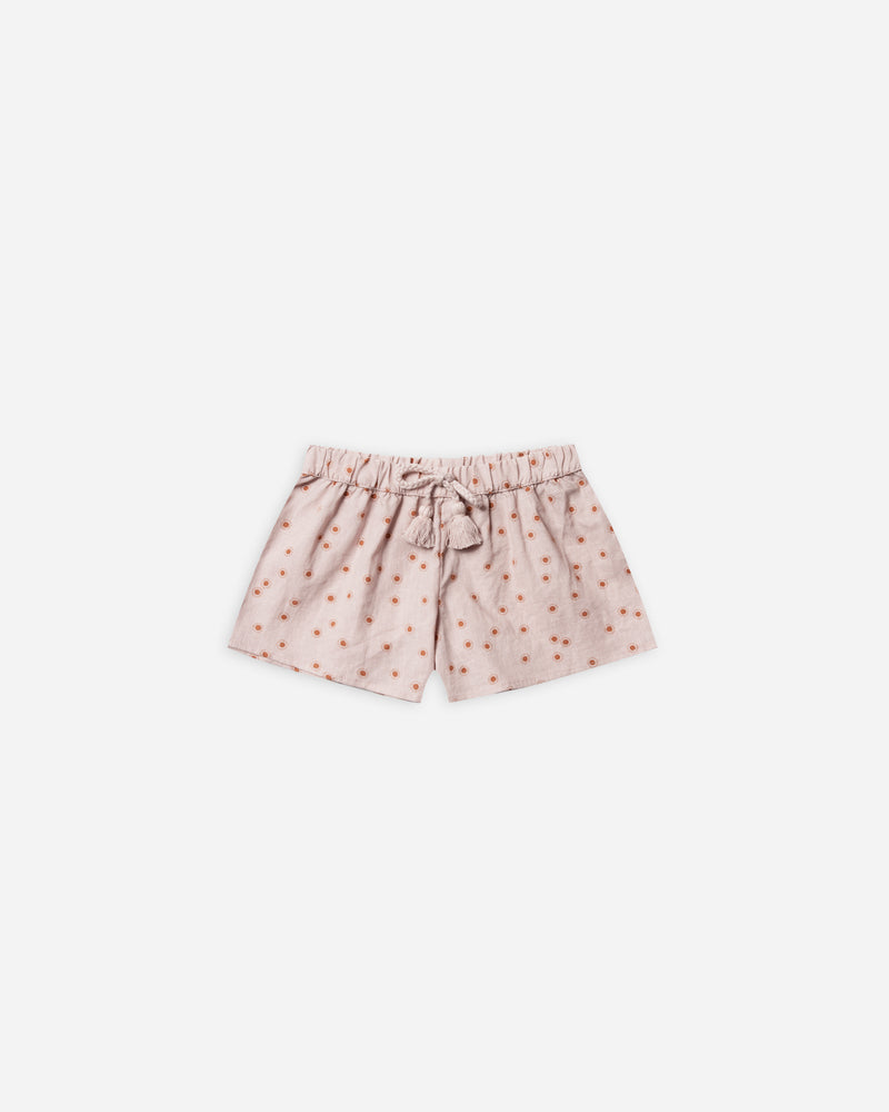 solana short || sunburst - Rylee + Cru | Kids Clothes | Trendy Baby Clothes | Modern Infant Outfits |