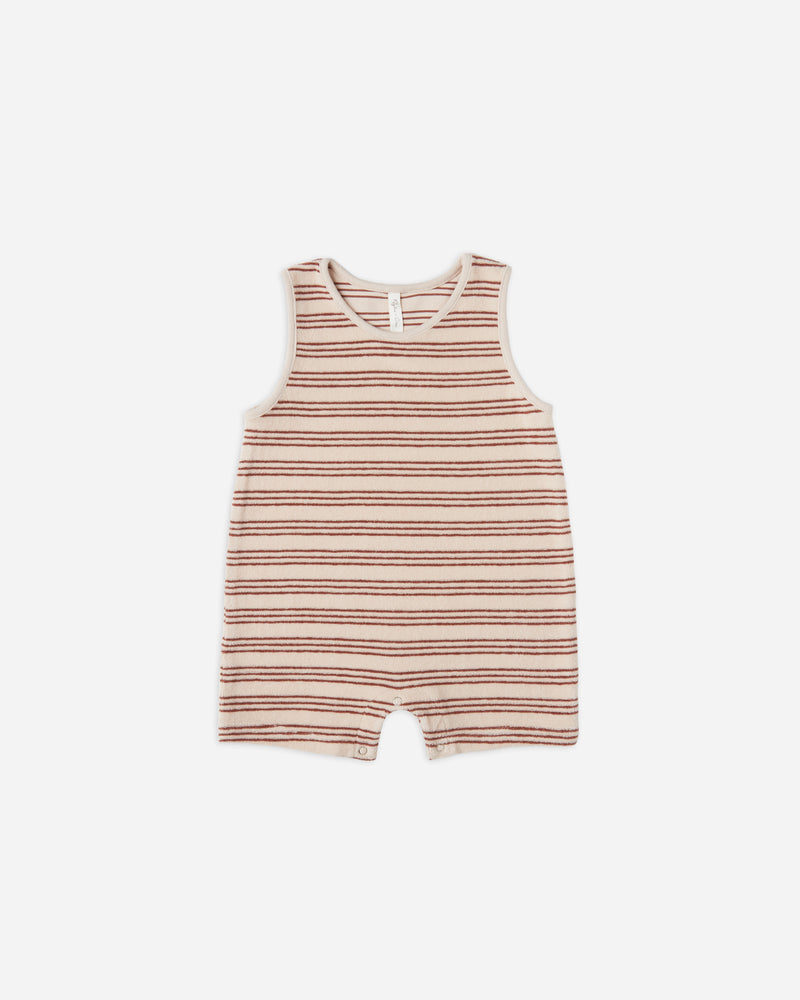 sleeveless onepiece || amber stripe - Rylee + Cru | Kids Clothes | Trendy Baby Clothes | Modern Infant Outfits |