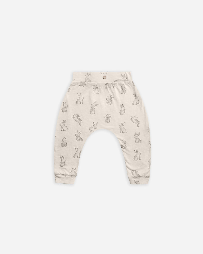 Slouch Pant || Bunnies - Rylee + Cru | Kids Clothes | Trendy Baby Clothes | Modern Infant Outfits |