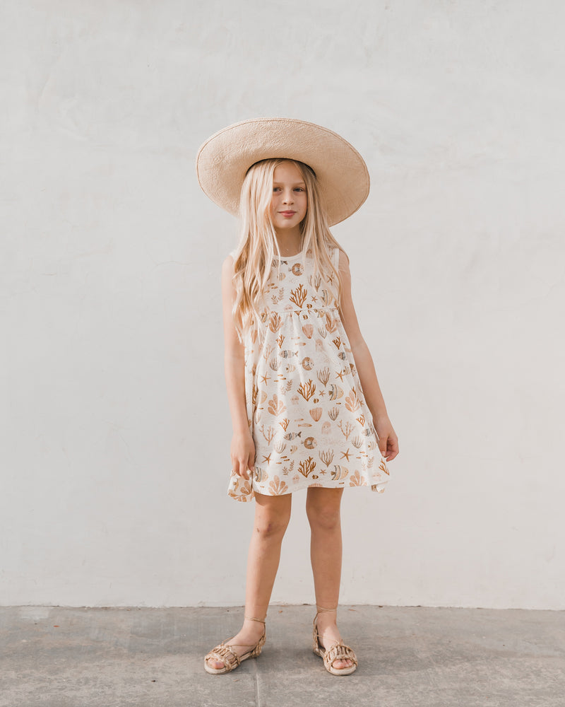 layla dress || sea life - Rylee + Cru