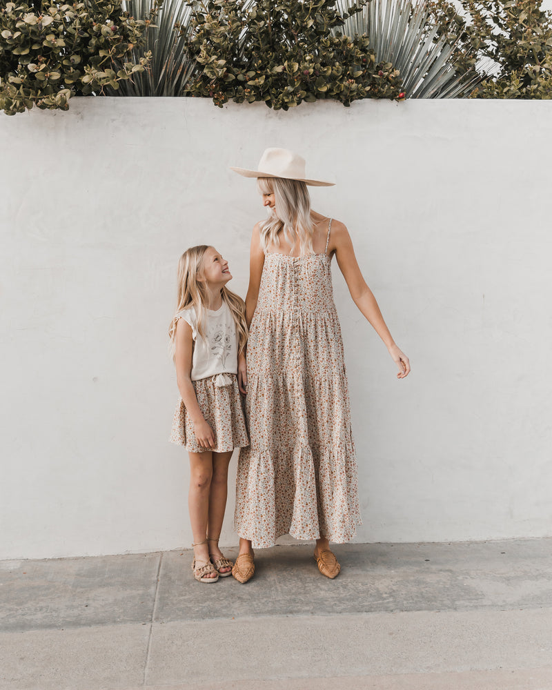 mini skirt || flower field - Rylee + Cru