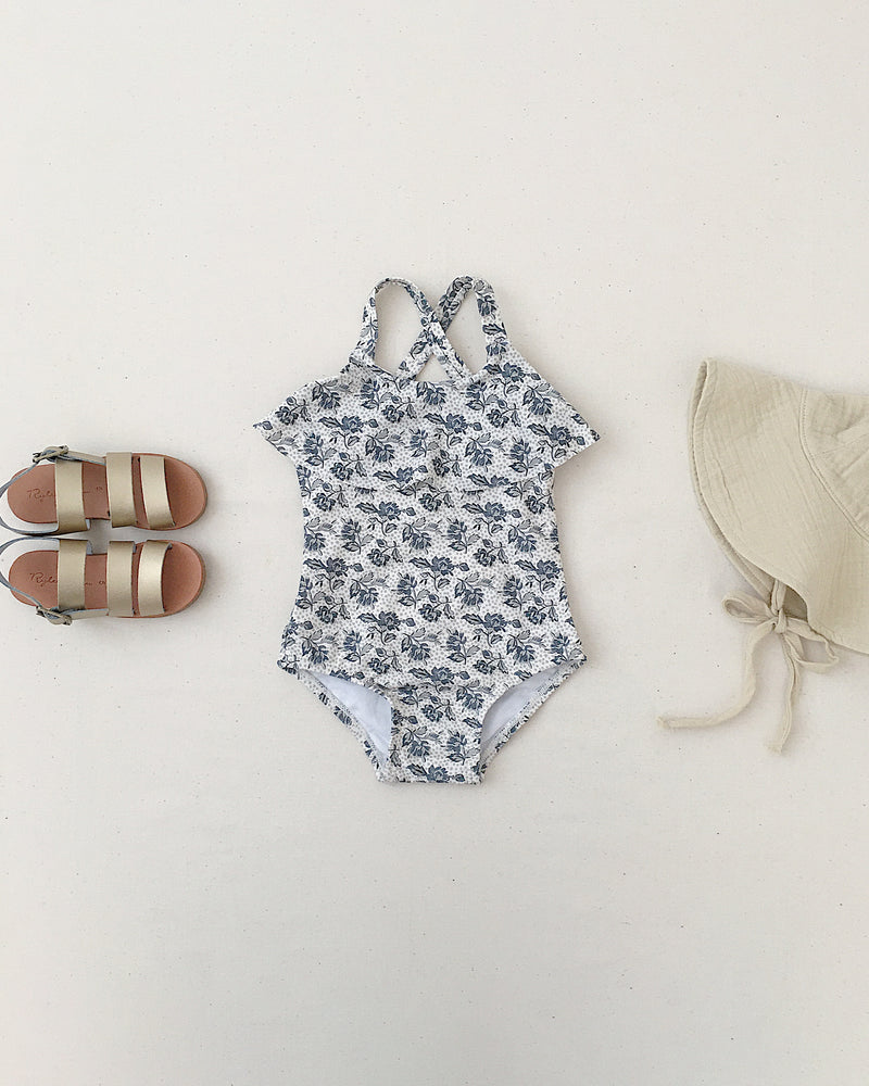 ruffle onepiece || roses - Rylee + Cru | Kids Clothes | Trendy Baby Clothes | Modern Infant Outfits |