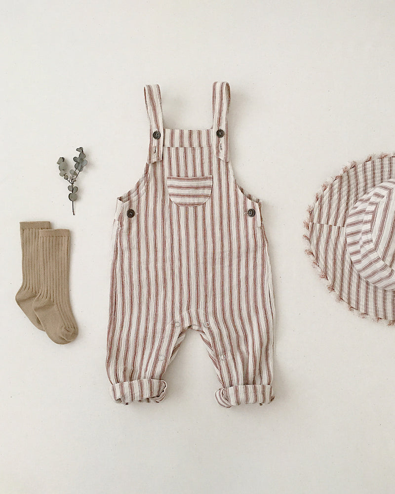 baby overall || amber stripe - Rylee + Cru | Kids Clothes | Trendy Baby Clothes | Modern Infant Outfits |