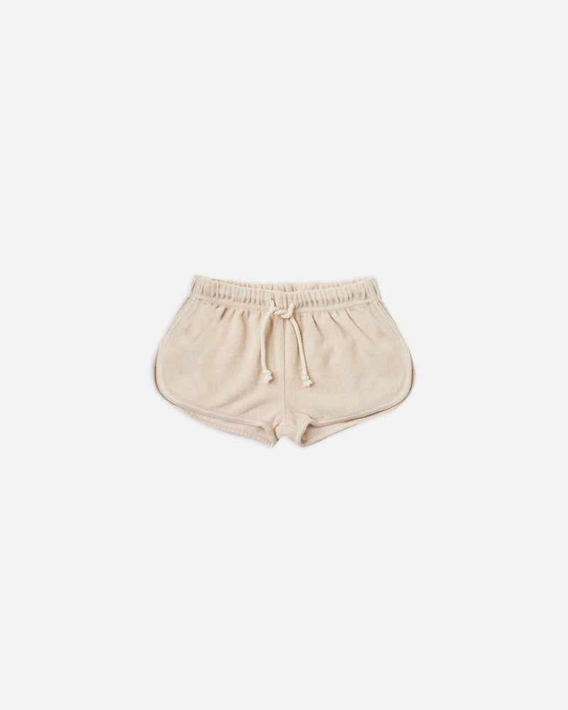 terry track short || shell - Rylee + Cru | Kids Clothes | Trendy Baby Clothes | Modern Infant Outfits |