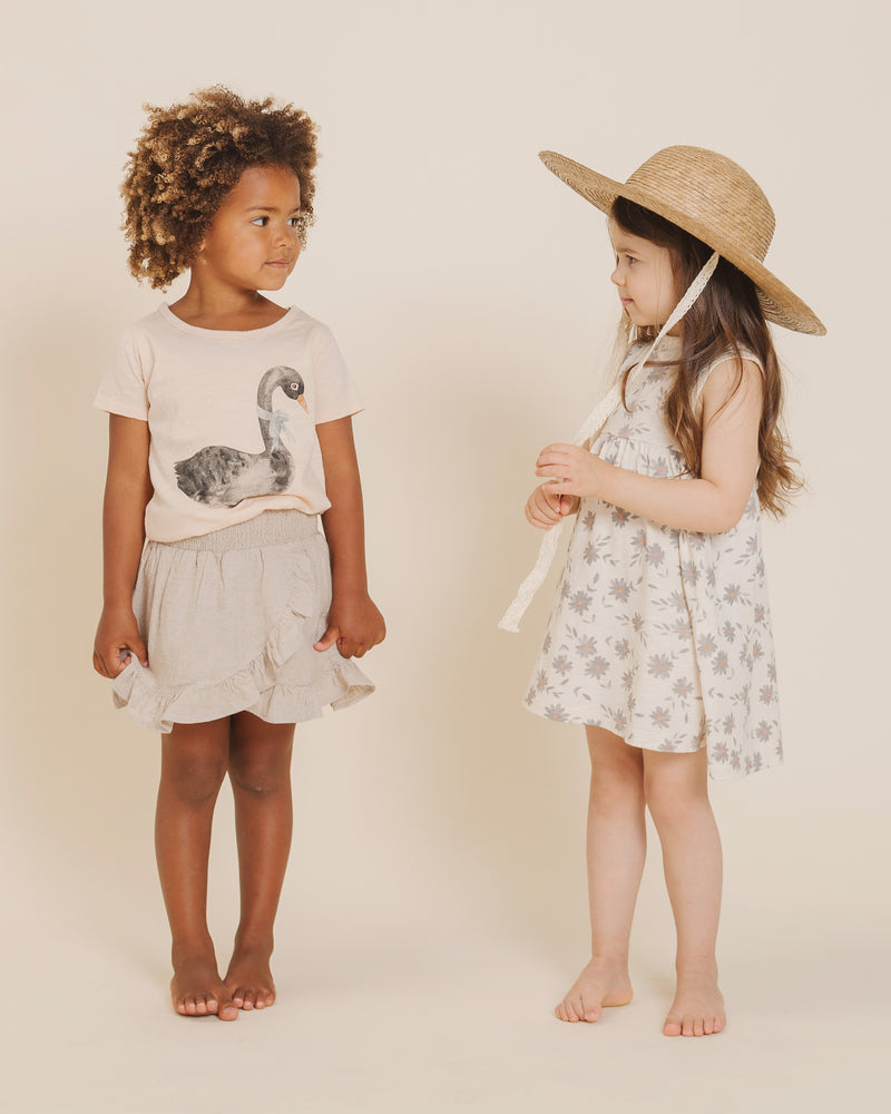 Layla Dress || Daisies - Rylee + Cru | Kids Clothes | Trendy Baby Clothes | Modern Infant Outfits |
