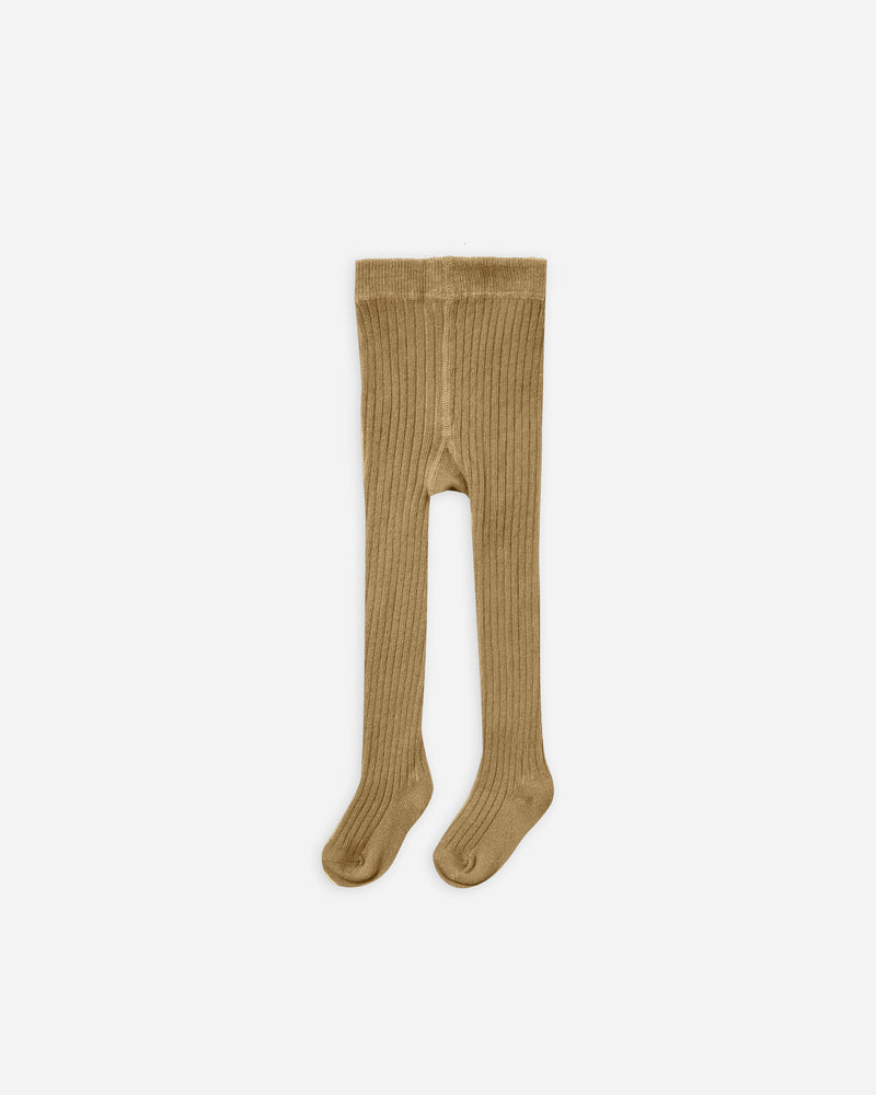 rib knit tights || goldenrod - Rylee + Cru | Kids Clothes | Trendy Baby Clothes | Modern Infant Outfits |