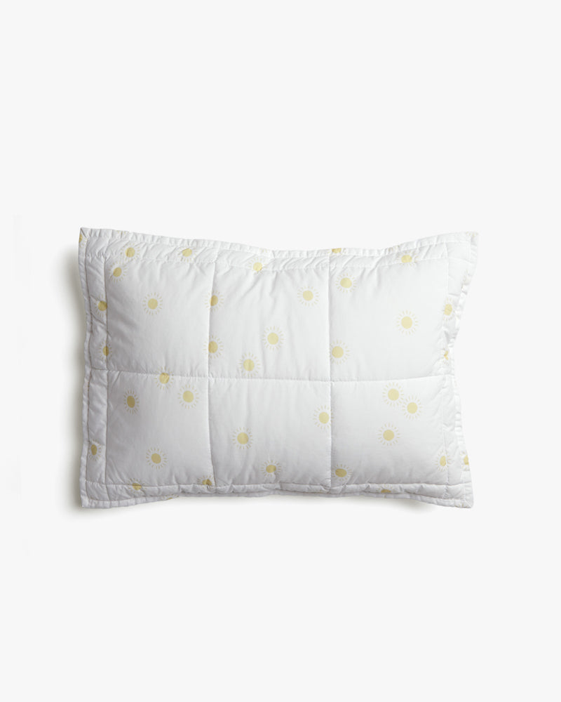 baby pillowcase || sunburst, white - Rylee + Cru | Kids Clothes | Trendy Baby Clothes | Modern Infant Outfits |