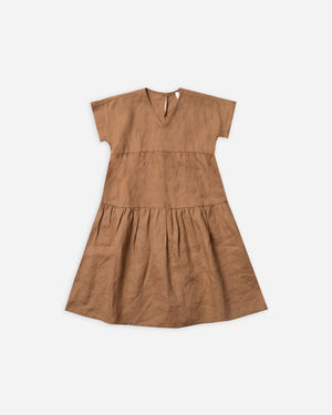 vienna dress || bronze - Rylee + Cru