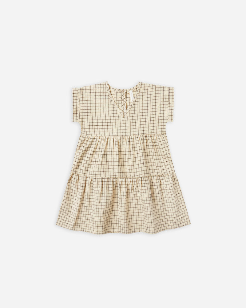 vienna dress || grid - Rylee + Cru | Kids Clothes | Trendy Baby Clothes | Modern Infant Outfits |