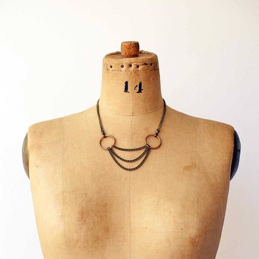Vera Draped Chain Necklace