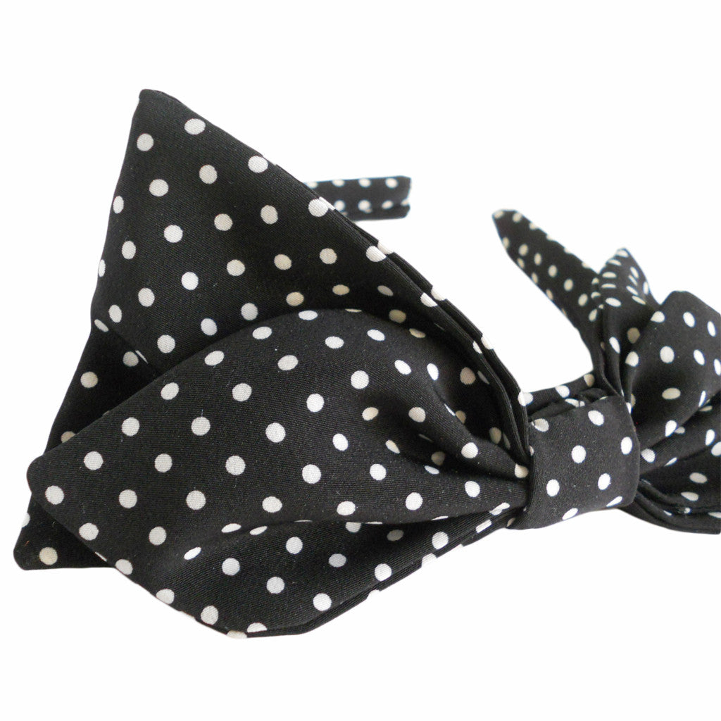 Polka Dot Bow Hairbands