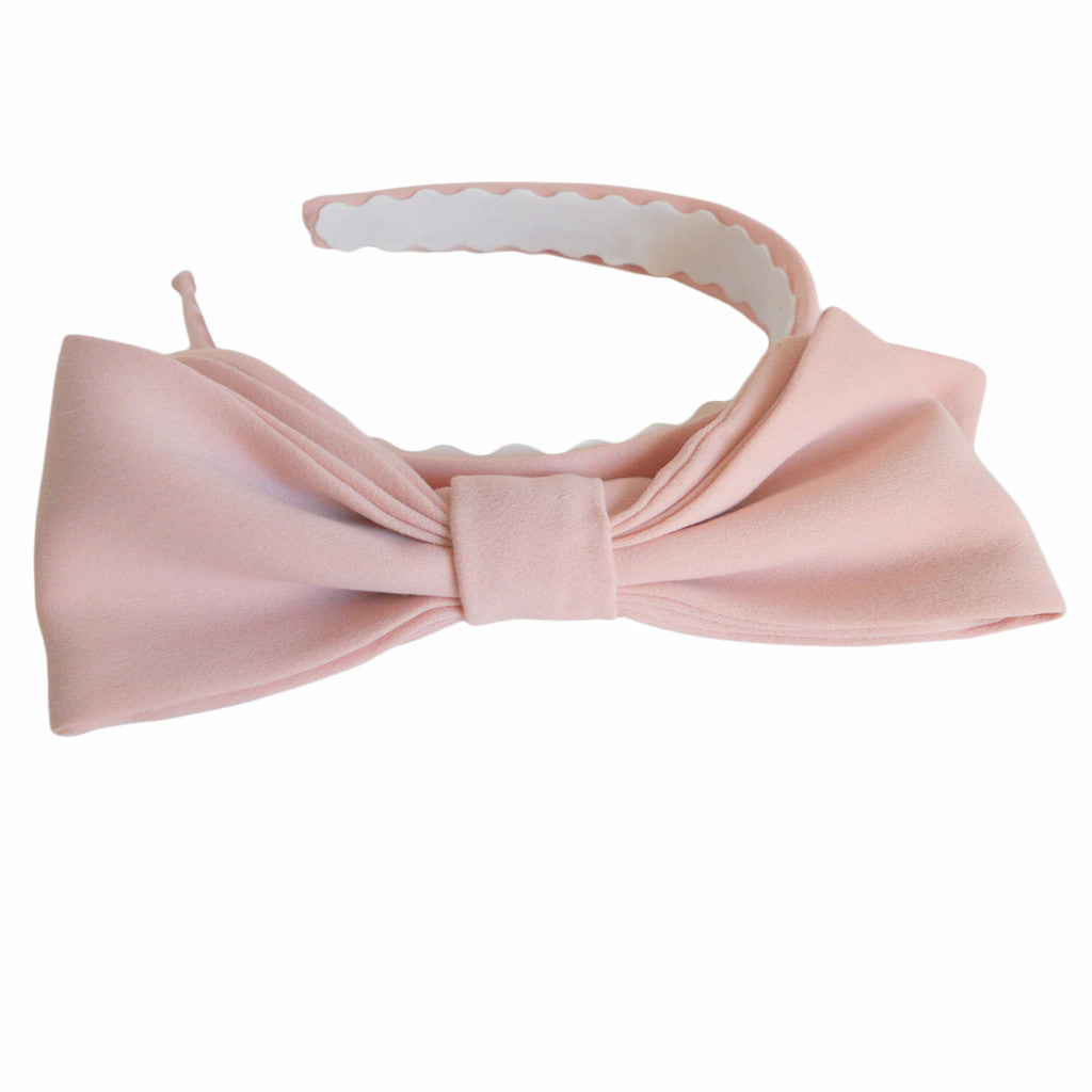 Pink Lavish Bow Hairbands