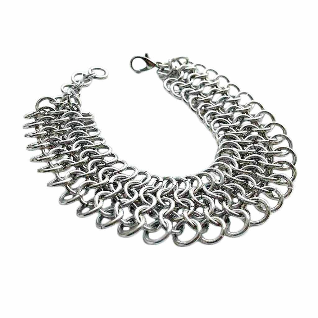 Thick Chainmaille Bracelet