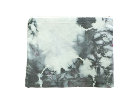 Blue & Grey Hand Dyed Class Clutch