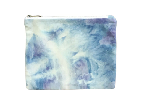 Blue & Purple Hand Dyed Class Clutch