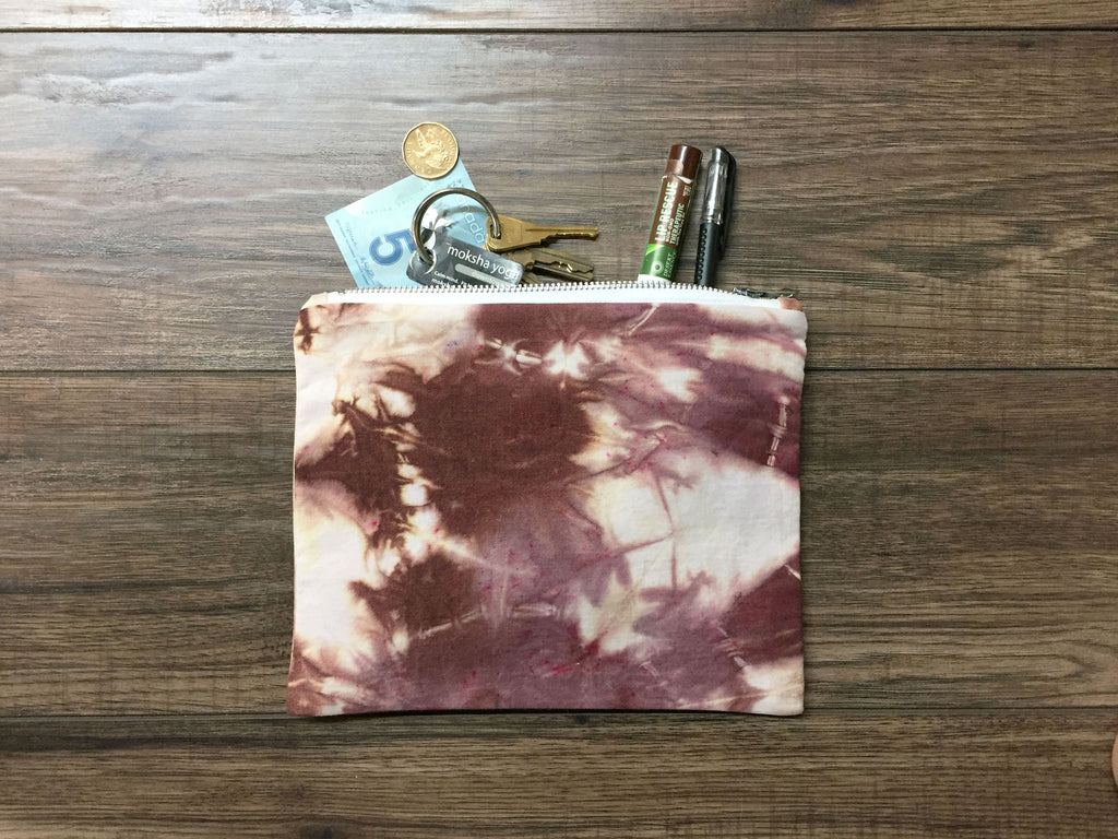 Burgundy Hand Dyed Class Clutch