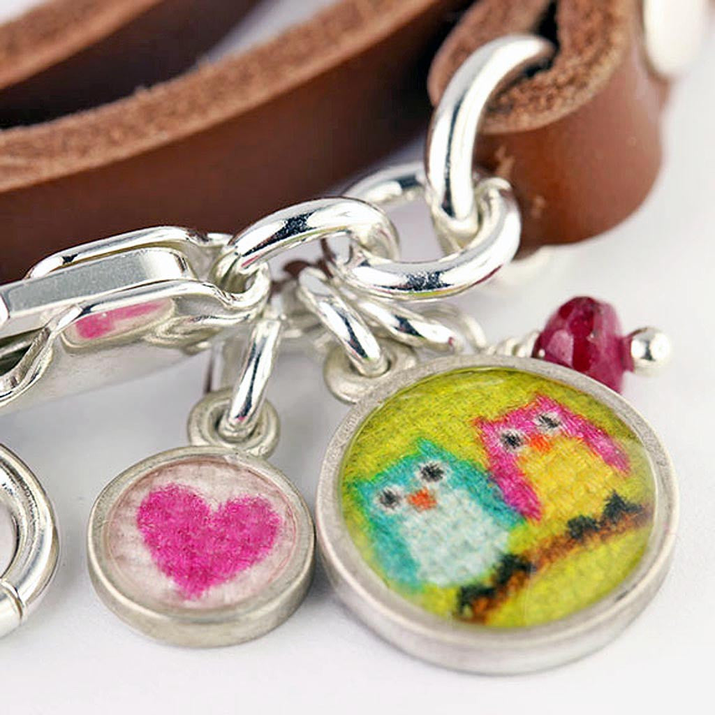 Love Owls Wrap Bracelet