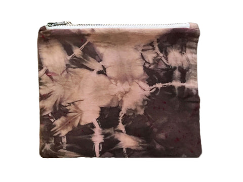 Pink & Black Hand Dyed Class Clutch