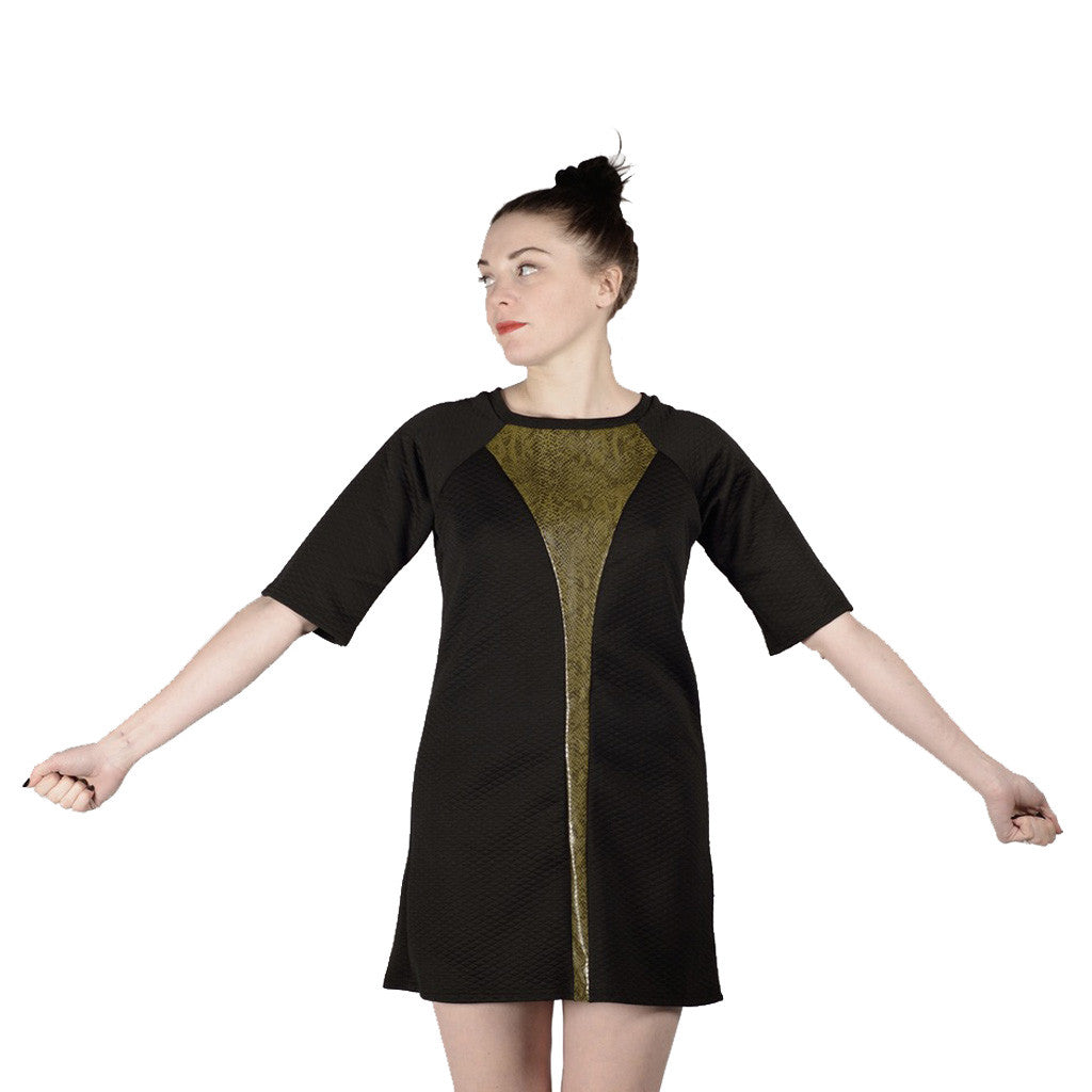 Snake Shift Dress
