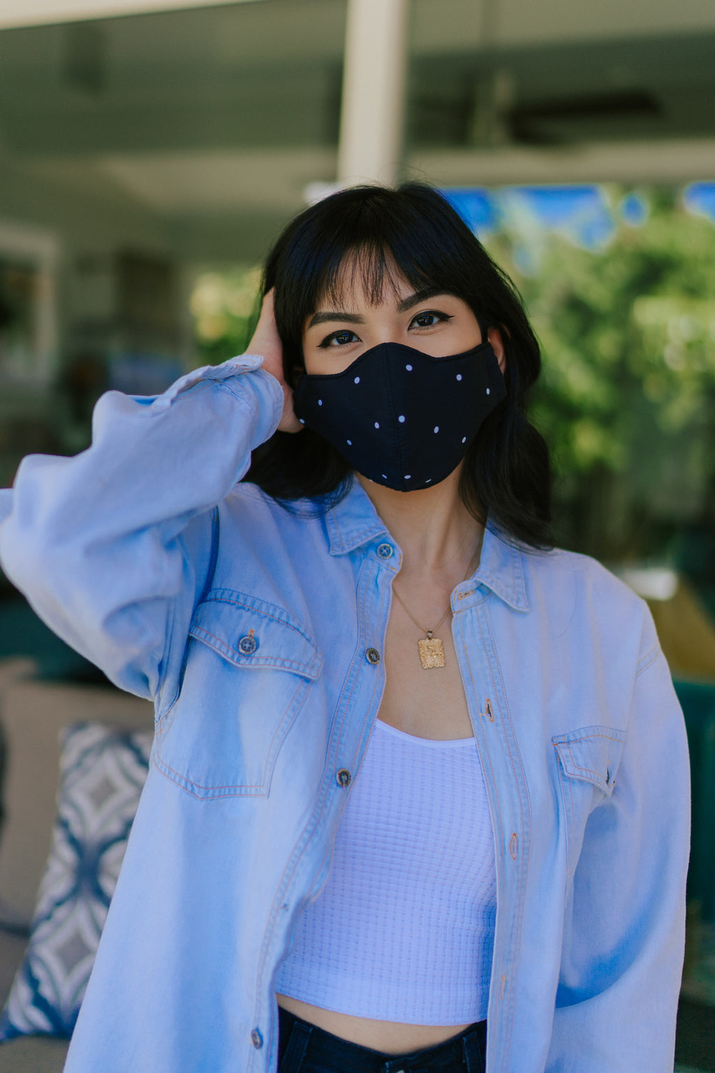 Kimmy Fabric Face Mask